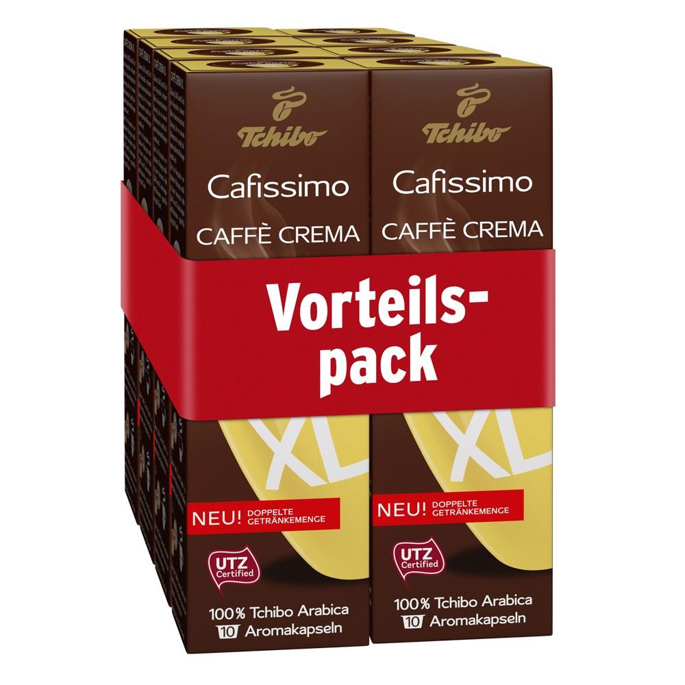 33 38 1kg tchibo cafissimo caff crema xl 80 kapseln f r kaffeebecher coff ebay. Black Bedroom Furniture Sets. Home Design Ideas