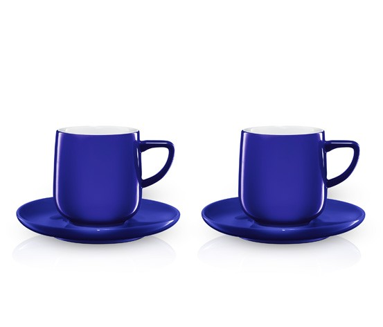 tchibo espresso tassen 2er set in blau designed by conran ebay. Black Bedroom Furniture Sets. Home Design Ideas